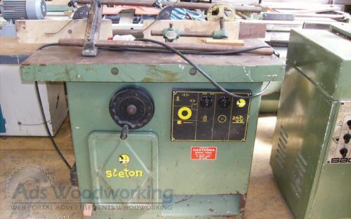 Steton machine a bois