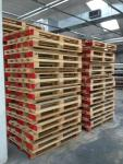 Stock pallets usati