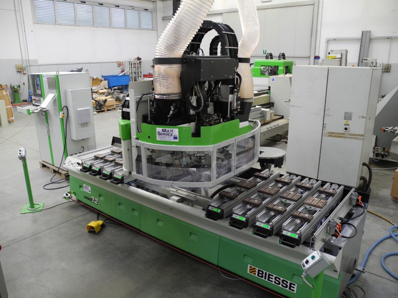 Centro de mecanizado biesse rover 22 nc1000 de segunda - Chef 2000 segunda mano ...