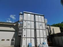 MAPELLI Impianto di aspirazione tipo silos rettangolare