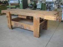 banco da falegname in legno massello