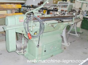 used baldoni lathe with copy distance 1200 bits