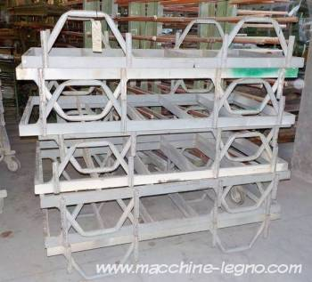 Plate Forme Pour Portes Et Fenetres 70x140 D Occasion Cod 8698 Empileurs Depileurs Sur Macchine Legno Com