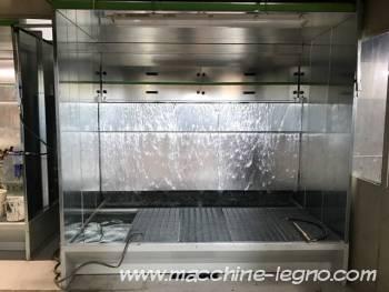 Cabine di verniciatura ad acqua macchine for Cabine di legno di whitetail